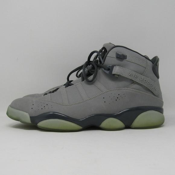 competitive price 2def1 c4fb8 Nike Air Jordan 6 Rings Silver Grey 3M Size 12